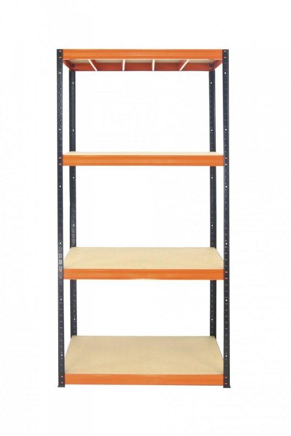 Metallregal Werkstatt Schwerlastregal Helios 180x075x50_4 Böden, Tragkraft bis 400 Kg pro Boden,  Viele Farben zur Auswahl
