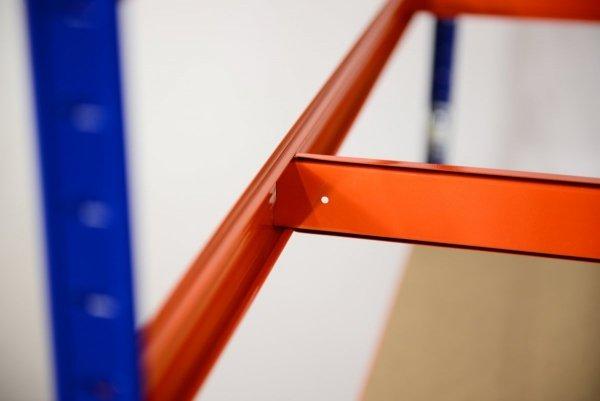 Metallregal Werkstatt Schwerlastregal Helios 213x110x35_5 Böden, Tragkraft bis 400 Kg pro Boden,  Viele Farben zur Auswahl