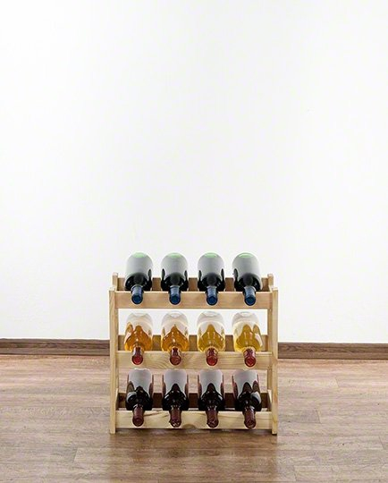 Weinregal für 12 Flaschen RW-1-12