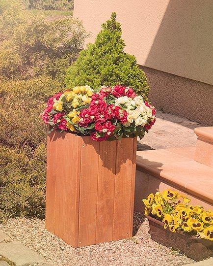 Blumenkübel RD-1-50, 50x27x31 cm
