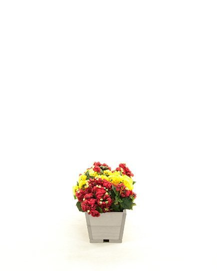 Blumenkübel aus Holz Serie RD-2-74, 16x74x21