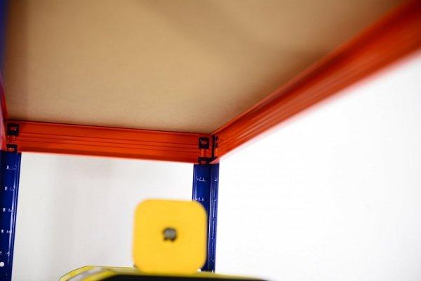 Metallregal Werkstatt Schwerlastregal Helios 180x090x60_5 Böden, Tragkraft bis 400 Kg pro Boden,  Viele Farben zur Auswahl