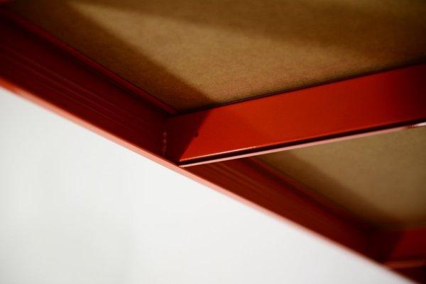 Metallregal Werkstatt Schwerlastregal Helios 196x120x35_6 Böden, Tragkraft bis 400 Kg pro Boden,  Viele Farben zur Auswahl