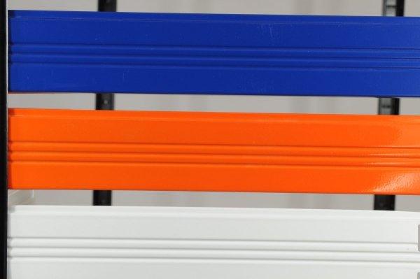 Metallregal Werkstatt Schwerlastregal Helios 180x100x45_5 Böden, Tragkraft bis 400 Kg pro Boden,  Viele Farben zur Auswahl