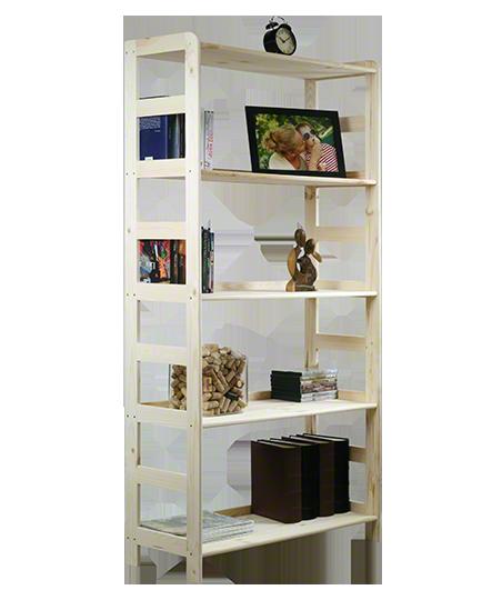 Holzregal Bücherregal R-10 (166x83x33 ), 5 Böden