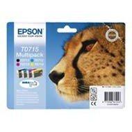 Zestaw tuszy Epson T0715 do D78 DX-4000/4050/5000/50<br />50/6000 | 23,9ml | CMYK