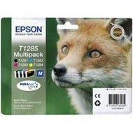 Zestaw tuszu Epson T1285 doStylus S22, SX-125/130/230/235W/<br />420W | 16,4ml | CMYK