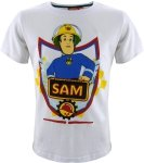 Koszulka Strażak Sam biała