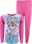 Piżama Kraina Lodu Elsa różowa w paseczki