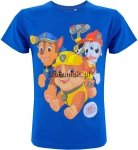 T-shirt Psi Patrol Top Pups niebieski
