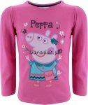 Bluzka Świnka Peppa z torebką różowa