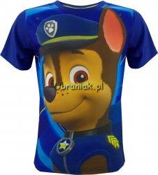 T-shirt Psi Patrol Chase niebieski