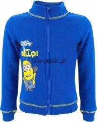 Bluza z Minionkiem niebieska