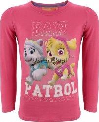 Bluzka Psi Patrol Paw róż