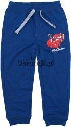 Spodnie Dresowe Auta Mcqueen niebieskie