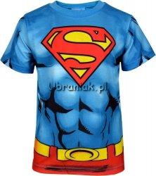Bluzka krótki rękaw Superman