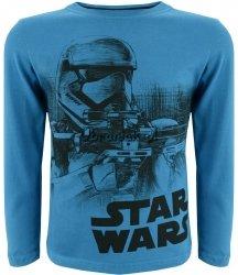 Bluzka Star Wars Stormtrooper niebieska