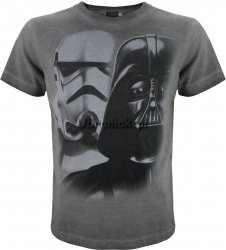 T-shirt Star Wars Vader Face grafit