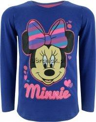 Bluzka Myszka Minnie fioletowa