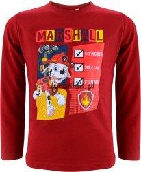 Bluzka Psi Patrol Marshall czerwona
