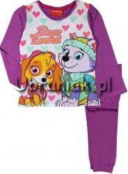 Piżama Psi Patrol dla dziewczynki fiolet