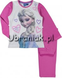 Piżama Kraina Lodu Elsa różowa