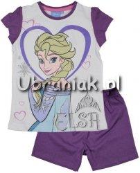 Piżama Kraina Lodu Elsa fiolet