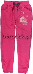 Spodnie dresowe Kucyki Pony różowe