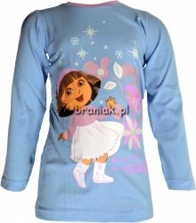 Bluzeczka Dora poznaje świat niebieska