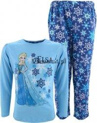 Piżama Kraina Lodu Elsa niebieska