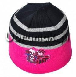 Czapka jesienna Monster High różowa