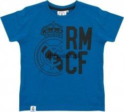 Koszulka Real Madryt Logo niebieska