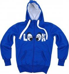 Bluza dla dziewczynki LOOK niebieska