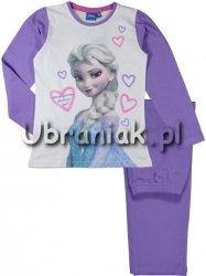 Piżama Kraina Lodu Elsa fioletowa