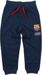Spodnie Dresowe Fc Barcelona granatowy melanż