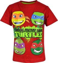 Koszulka Wojownicze Żółwie Ninja czerwona