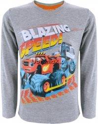 Bluzka Blaze i Mega Maszyny szara