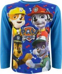Bluzka Psi Patrol Super czwórka niebieska