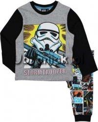Piżama Star Wars szaro-czarna
