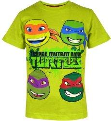 Koszulka Wojownicze Żółwie Ninja zielona