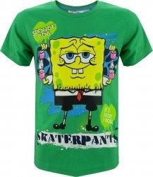 T-shirt Sponge Bob Kanciastoporty zielony