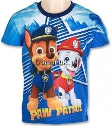 T-shirt Psi Patrol Chase i Marshall granat