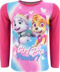 Bluzka Psi Patrol dla dziewczynki różowa