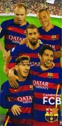 Ręcznik kąpielowy FC Barcelona Team 2