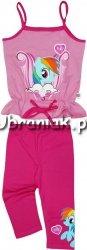 Komplet Kucyk Pony Pinkie Pie różowy