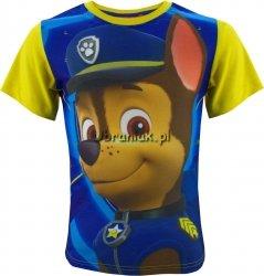 T-shirt Psi Patrol Chase żółty