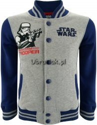 Bluza Bejsbolówka Star Wars Trooper szara