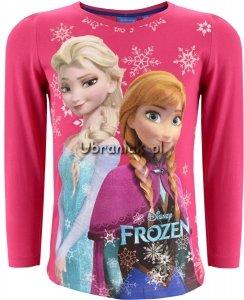 Bluzka Frozen Elsa i Anna różowa