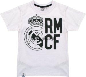 Koszulka Real Madryt Logo biała