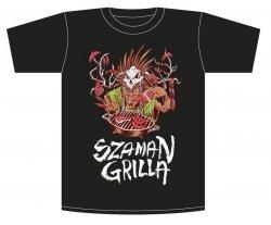 Koszulka, T-shirt Szaman Grilla roz. L